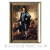 () Sale $1 Off - Dollhouse Portrait of Blue Boy - Product Image