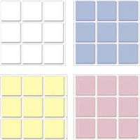 Dollhouse Tile 1/4 inch Squares- Choice of Color - - Product Image