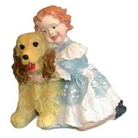 § Disc $1 Off - Dollhouse Doll - Dorthy with Dog - Product Image