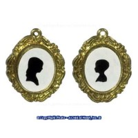 Dollhouse 2 pc Silhouettes Pictures - Product Image