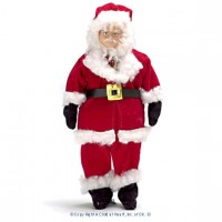Vinyl Dollhouse Doll - Santa - Product Image