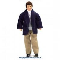Vinyl DollHouse Doll - Dad in Blazer - Product Image