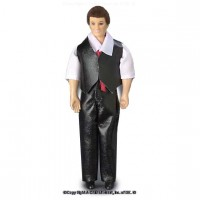 Vinyl DollHouse Doll - Dad in Vest - Product Image