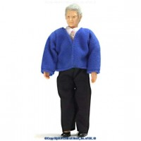 Sale $3 Off - Vinyl Grandfather Doll (Clinton) - Product Image