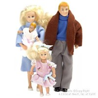 Sale $10 Off - Modern Doll Family - Blonde - Product Image