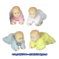 Resin Doll - Crawling Baby - Product Image