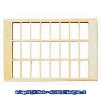 § Damaged $6 Off - Dollhouse 24 Light Window - Product Image