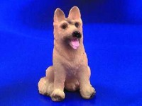 § Damaged .60¢ Off - Sitting German Shepherd - Product Image