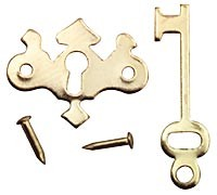 § Sale .70¢ Off - Chippendale Key Plate - Product Image