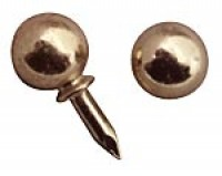 6 pc. Dollhouse Round Drawer Pulls - Product Image