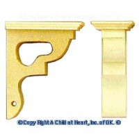 Victorian Corner Post Brackets - Product Image