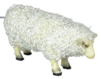 Dollhouse Female Sheep with Hair - Product Image