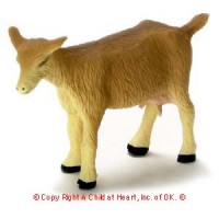 Dollhouse Miniature Goat - Product Image