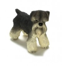 Dollhouse Miniature Schnauzer - Product Image