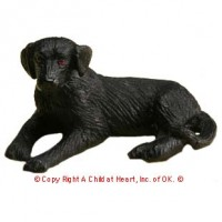Dollhouse Laying Labrador - Product Image