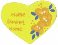 § Disc .60¢ Off - Dollhouse Heart Plaque - Product Image