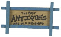 § Disc .60¢ Off - Dollhouse Antiques Wall Plaque - Product Image