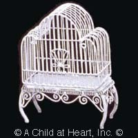 § Disc $3 Off - Dollhouse Victorian Cathedral Bird Cage - Product Image