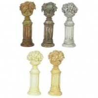 Dollhouse 2 Stone Fruit Pedestals - Product Image