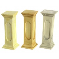 3 Large Dollhouse Pedestals - Product Image
