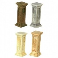 3 French Dollhouse Pedestal - Product Image