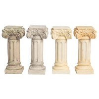 Dollhouse 2 Large Ornate Pedestal - Product Image