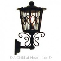 Dollhouse Iron Carriage Sconce - Product Image