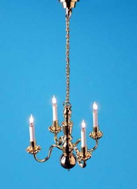 Elegant 4 Arm Chandelier - Product Image