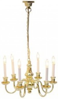 Dollhouse 6 Arm Grand Chandelier - Product Image