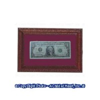 (*) Framed My First Dollar - Product Image