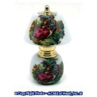 (*) Dollhouse French Couple Lamp - Product Image
