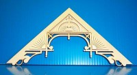 "Dollhouse Apex Trim 8-1/2"" W x 4-3/8"" H - Product Image"