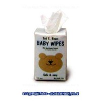 § Disc .30¢ Off - Dollhouse Box of Baby Wipes - Product Image