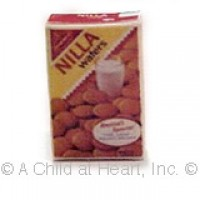 § Disc .40¢ Off - Dollhouse 'Nilla Wafers Box - Product Image