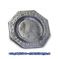 § Sale - Dollhouse Octagon Plate - Product Image