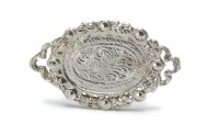 Unfnished - Fancy Oval Victorian Tray - Product Image