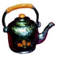 Unfinished Dollhouse Chinese Teapot - Product Image