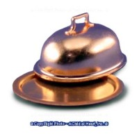 (§) Sale .30¢ Off - Oval Copper Tray with Cover - Product Image