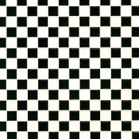 Dollhouse Tile Flooring - Black & White - Product Image