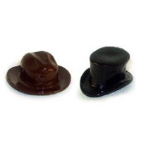 (**) Unfinished Western Hat or Top Hat - Product Image