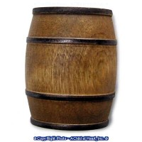 (§) Sale .20¢ Off - Dollhouse Wood Barrel - Product Image