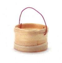 Dollhouse 2 Small Round Baskets - Product Image