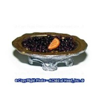 Dollhouse Bowl of Cramberries - Product Image