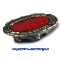 Dollhouse Bowl of Jelled Cramberry - Product Image