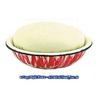 (*) Dollhouse Bread Rising in Bowl - Product Image