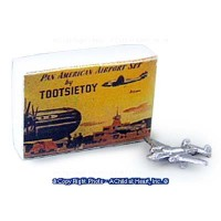 Dollhouse Toy Plane with Box - Product Image