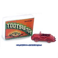 Dollhouse Toy Car Box with Toy Car - Product Image