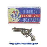 Dollhouse Toy Gun with Box - Product Image