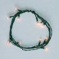 § Sale $2 Off - 12 Bulb Clear Christmas String - Product Image