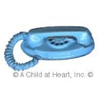 (**) Dollhouse Rotary Princess Phone - Product Image